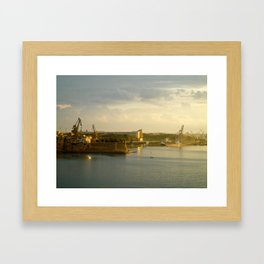 The Three Cities Framed Art Print
