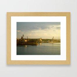 The Three Cities Framed Art Print