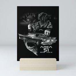 Area 51 Raid / Alien Lowrider Mini Art Print