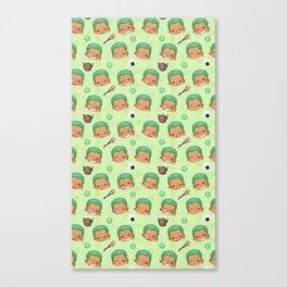 Zoro Pattern Canvas Print