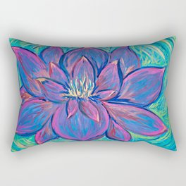 Blossom Ablaze Rectangular Pillow