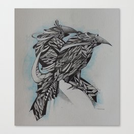 Pássaros Canvas Print