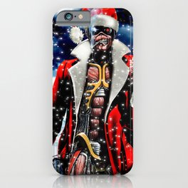 iron christmas maiden klaus 2020 tokaug iPhone Case