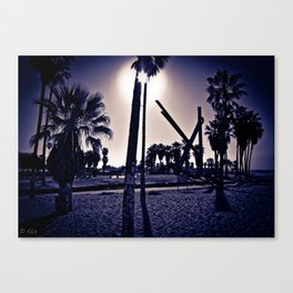 Venice Beach #4 Canvas Print