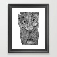 Tree Person Framed Art Print