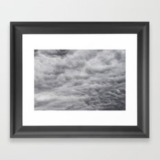 Dark Sky Framed Art Print