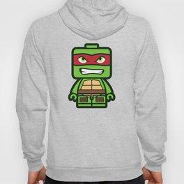 Chibi Raphael Ninja Turtle Hoody