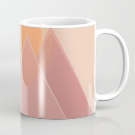 The quiet mountains Coffee Mug