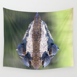 Watercolor Anthropomorphism 42, Turtle Nose Piercings Wall Tapestry