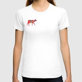 Graphic Elk 03 Swedish Dala Female T-shirt