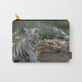 White Tiger Cub 2 Carry-All Pouch