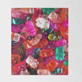 Yummy Gummies Throw Blanket