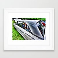 stickers Framed Art Prints featuring Stickers by christopher justin gilner photographic