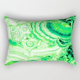 Malachite Green Rectangular Pillow