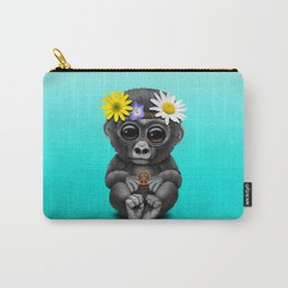 Cute Baby Gorilla Hippie Carry-All Pouch