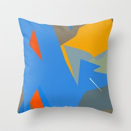 Deep in the wordly ocean Throw Pillow