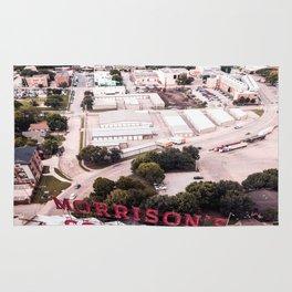Texas Women's University and Morrison's Corn Kits in Denton, Texas Rug
