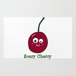 Halloween Scary Cherry Fruit Costume Vegan Vegetarian Rug