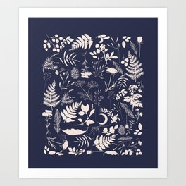 Stay Wild Two Art Print