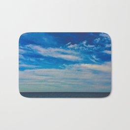 The Blue Summer Sky Bath Mat