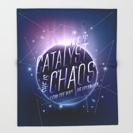 Catalyst Throw Blanket