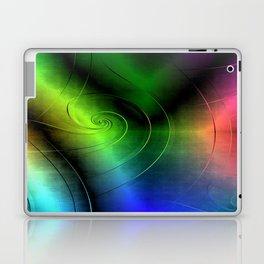 Midnight Curly Laptop & iPad Skin