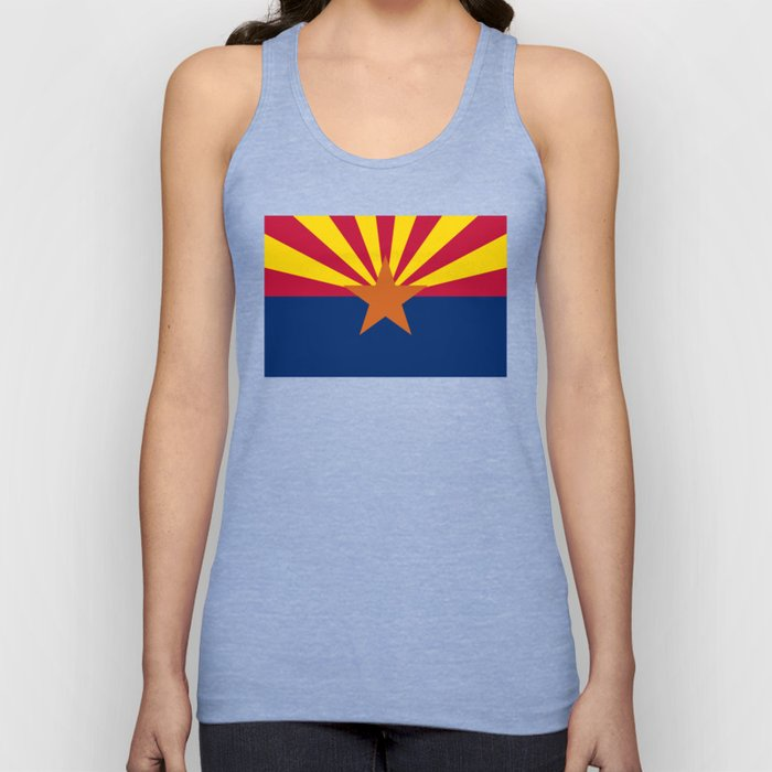 State flag of Arizona, Authentic HQ image Unisex Tank Top
