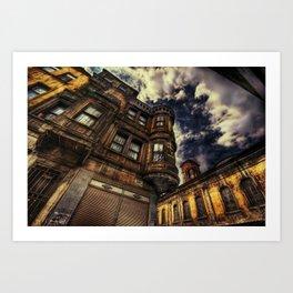 Chasing Blue Sky Art Print
