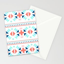 geometry navajo pattern Stationery Cards
