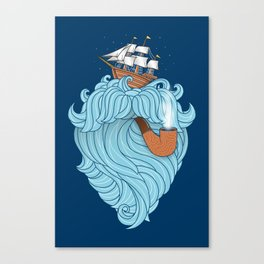 Skilled Sailor Canvas Print