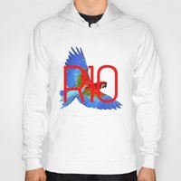 rio Hoodies featuring RIO PANTS PARTY by Chrisb Marquez