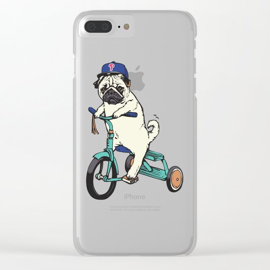 Haters Gonna Hate Phillies Clear iPhone Case