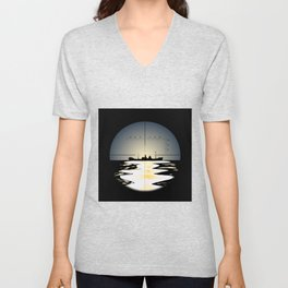 Periscope Unisex V-Neck