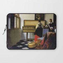 Johannes Vermeer  - The Music Lesson Laptop Sleeve