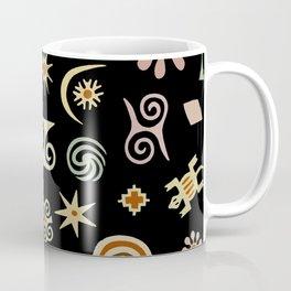 African Adinkra Symbols Coffee Mug