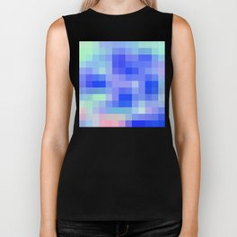 Re-Created Colored Squares No. 54 Biker Tank