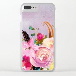 Flowers bouquet #40 Clear iPhone Case