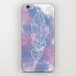 Geometric Feather iPhone Skin
