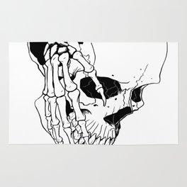 Skull #7 (Creeping Hands) Rug