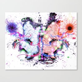Angel and Demon Canvas Print