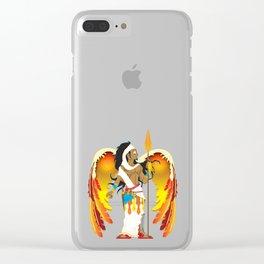 St. Uriel Clear iPhone Case