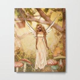 Garden Peaches Metal Print