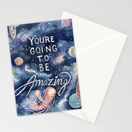 you're going to be amazing Stationery Cards