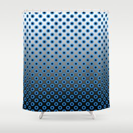 GRADIANT CIRCLES  Shower Curtain
