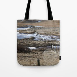 Lower River Road Tote Bag