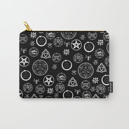 Occult Noir Carry-All Pouch
