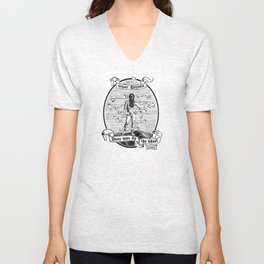 Never Give Up The Ghost Unisex V-Neck