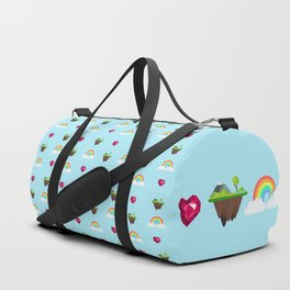 Somewhere Over The Rainbow pattern Duffle Bag