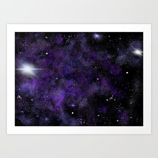 Jam Nebula Art Print
