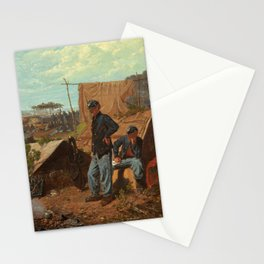 Winslow Homer's Home, Sweet Home (1863) Stationery Cards